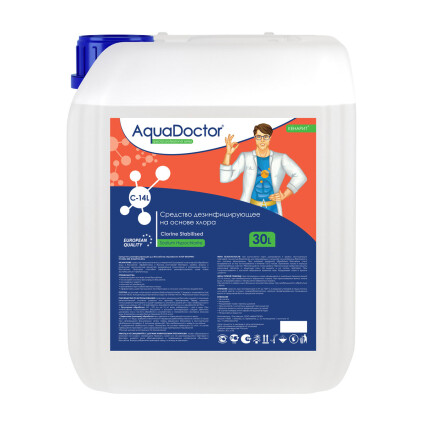 Гипохлорит натрия AquaDoctor CL-14 20 л. (М)